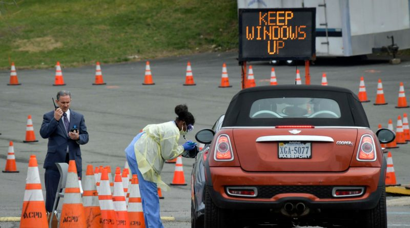 Going to a drive-thru COVID-19 testing site? Here's a step-by-step look at what to expect