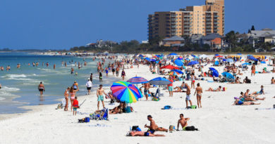Florida college students test positive for coronavirus after going on spring break