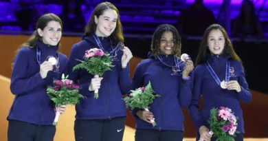 Opinion: US fencer subjected to racist abuse on Zoom call gets little support