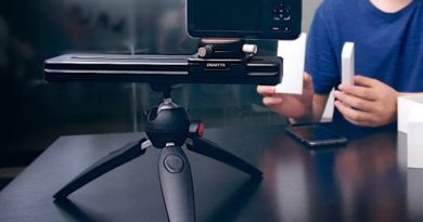 SliderMini camera slider can be controlled from your smartphone