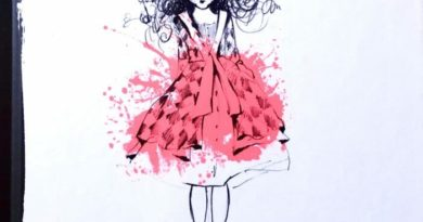 Colouring downloads for kids who love fashion - Smudgetikka