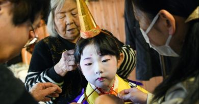 In rural Japan, a 370-year-old tradition falls to one child