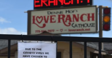 Legal sex workers in Nevada struggling during coronavirus closures